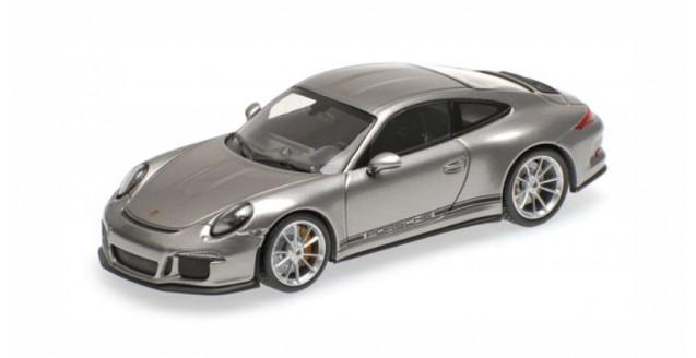 1:43 Minichamps Porsche 911 GT3 2017 darkgrey 991 II