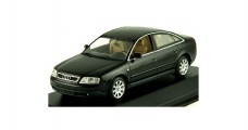 Audi A6 Saloon 1997 Black 1:43  Minichamps 430017101