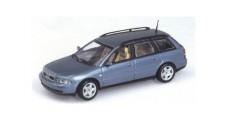 Audi A4 Avant 1999 Light Blue 1:43 Minichamps 430018410