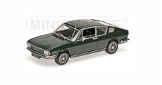 Audi 100 Coupe S Year 1969 Dark Green 1:43 Minichamps 430019129