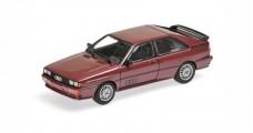 Audi Quattro Year 1980 Violet Metallic 1:43 Minichamps 430019429