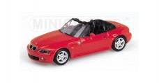 BMW Z3 2.8 Cabriolet Red 1997 1:43 Minichamps 430024330