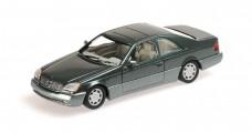 Mercedes Benz 600 SEC Coupe Green 1:43 Minichamps 430032604