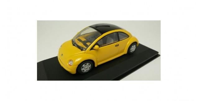 Volkswagen Concept Car Yellow 1:43 Minichamps 430054001