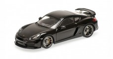 PORSCHE CAYMAN GT4 COUPE 2016 Black 1:43 Minichamps 410066121