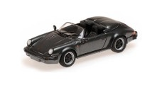 Porsche 911 Speedster 1988 Grey Metallic 1:43 Minichamps 430066135
