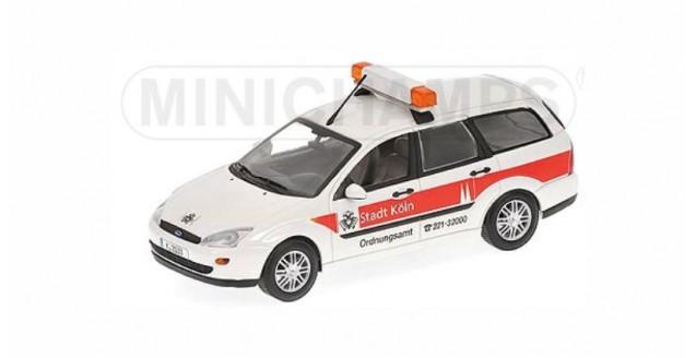 Ford Focus Turnier 1997 ORDNUNGSAMT White1:43 Minichamps 430087091