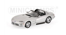 Dodge Viper Coupe 1993 Silver 1:43 Minichamps 430144034