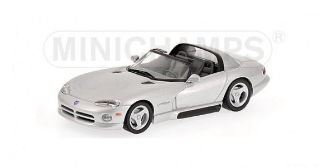 Dodge Viper Coupe 1993 Silver 1:43 Minichamps 430144034