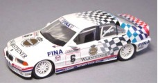 BMW E36 1993 318i 06 Soper Vice Champion BTCC White 1:43 Minichamps 430932306
