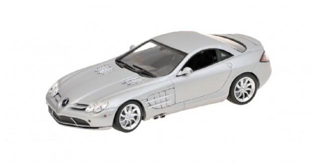 Mercedes SLR McLaren 2004 Silver 1:43 Minichamps 436033021