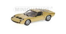 Lamborghini Miura S 1969 Gold 1:43 Minichamps 436103000