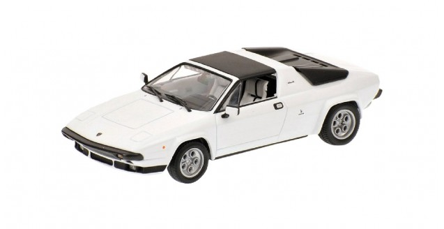 Lamborghini Silhouette 1976 White 1:43 Minichamps 436103620