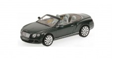 Bentley Continental GTC 2011 Green 1:43 Minichamps 436139060
