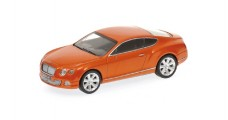 Bentley Continental GT 2011 Orange 1:43 Minichamps 436139981