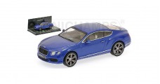 Bentley Continental GT V8 2011 Blue 1:43  Minichamps 436139982