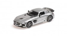 Mercedes Benz SLS AMG Coupe Grey 1:43 Minichamps 437033024