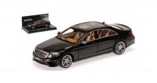Mercedes S-class Brabus 850 S63 Black 1:43 Minichamps 437034200