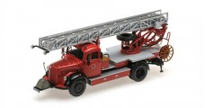 Mercedes-Benz L3500 DL17 Fire Department Bensheim 1950 Red 1:43 Minichamps 439350080