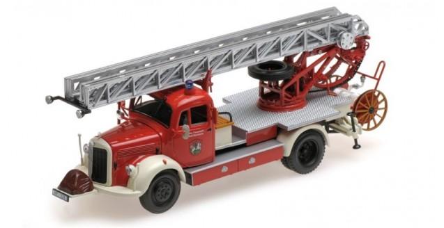 Mercedes-Benz L 3500 DL17 1950 Pompiers Red 1:43 Minichamps 439350081