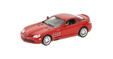 Mercedes-Benz SLR McLaren Coupe Red 1:64 Minichamps 640037120