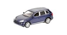 Porsche Cayenne S Blue 2007 1:64 Minichamps 640066210
