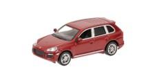 Porsche Cayenne S Red 2007 1:64 Minichamps 640066280