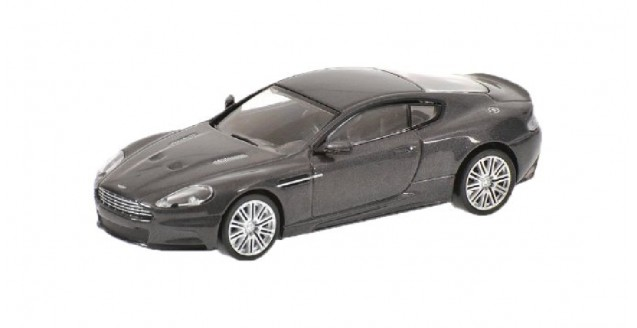 Aston Martin DBS Grey 2006 1:64 Minichamps 640137620
