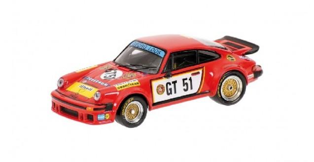 Porsche 934 Gelo Tebernum Racing Red 1:43 Minichamps 640766451