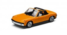 VW Porsche 914 Orange 1969 1:43 Minichamps 811099300K2Y