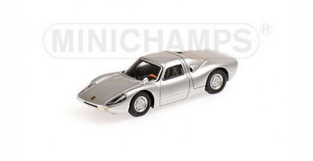 Porsche 904 Gts 1964 Silver 1:87 Minichamps 877065720