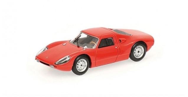 Porsche 904 Gts 1964 Red 1:87 Minichamps 877065721