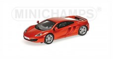 McLaren 12C  2012 Metallic Orange 1:87 Minichamps 877133020