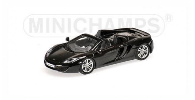 McLaren 12C 2012 Black 1:87 Minichamps 877133030