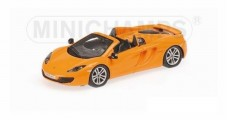 Mclaren 12C Spider Yellow 2012 1:87 Minichamps 877133031