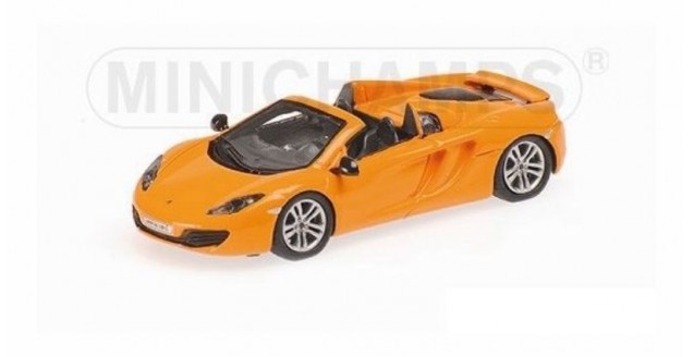 Mclaren 12C Spider Orange 2012 1:87 Minichamps 877133031