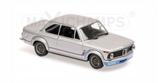 BMW 2002 TURBO 1973 Silver Minichamps 940022200