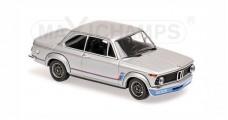 BMW 2002 TURBO 1973 Silver Minichamps 940022200