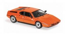 BMW M1 1979 Orange Minichamps 940025020