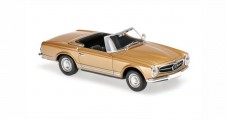 Mercedes-Benz 230 SL 1965 Gold 1:43 Minichamps 940032230