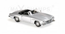 Mercedes-Benz 190 SL Year 1955 Silver 1:43 Minichamps 940033130