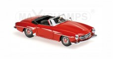 Mercedes-Benz 190 SL Year 1955 Red 1:43 Minichamps 940033131