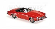 Mercedes-Benz 190 SL Year 1955 Red 1:43 Minichamps 940033131