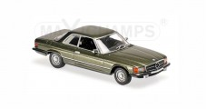 Mercedes-Benz 450 SLC R107 Anno 1974 Green Metalic 1:43 Minichamps 940033420