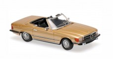 Mercedes 350 SL R107 1974 Gold 1:43 Minichamps 940033431