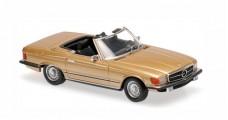 Mercedes 350 SL R107 1974 Gold 1:43 Minichamps 940033431