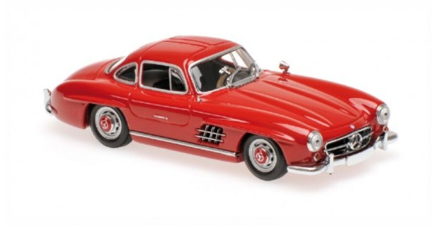 Mercedes-Benz 300 SL Coupe Red 1954 1:43 Minichamps 940039001