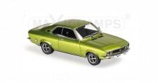 Opel Manta A Year 1970 Green Metallic 1:43 Minichamps 940045501