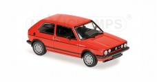 VW Golf GTI 1980 Red 1:43 Minichamps 940055170