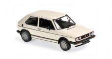 Volkswagen VW Golf I GTI Year 1983 white 1:43 Minichamps 940055171